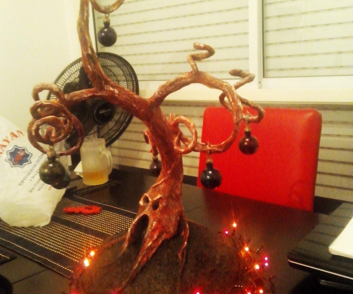 Spooky Christmas Tree