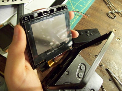 Remove Frontlight From Your GBA SP