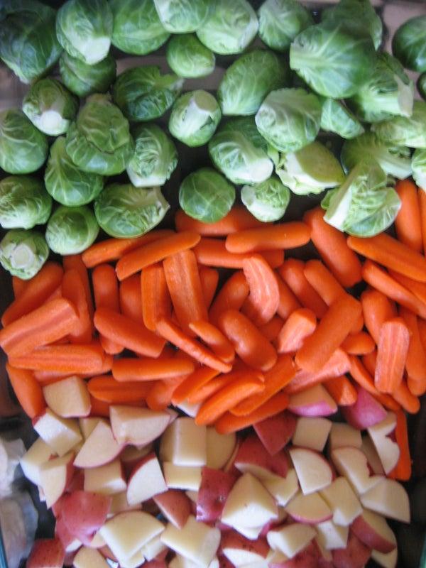 Roasted Veggies & Salsa Recipes!