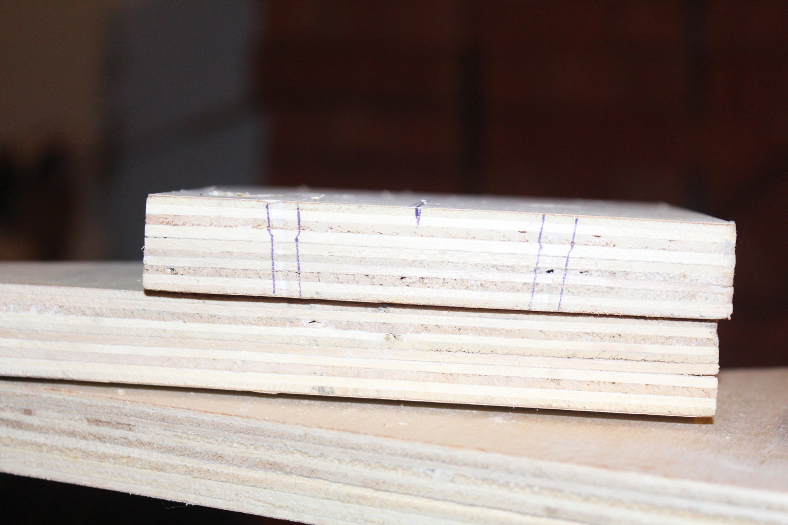 Cutting the Plywood and Woodwork