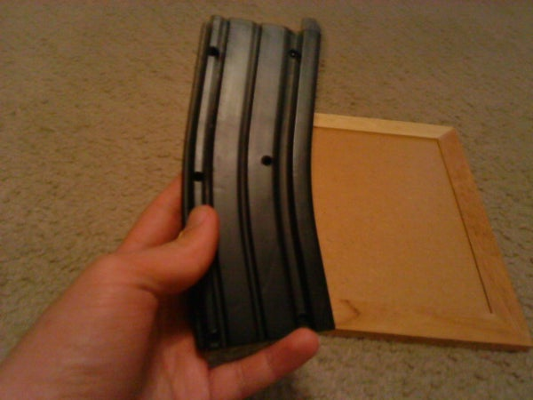 How to Make an Airsoft BB Holder Out of a Broken Airsoft Mag.