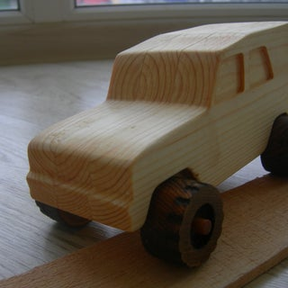 Make a Wooden Toy Car
