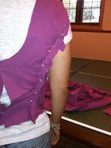 Altering Practice Dress