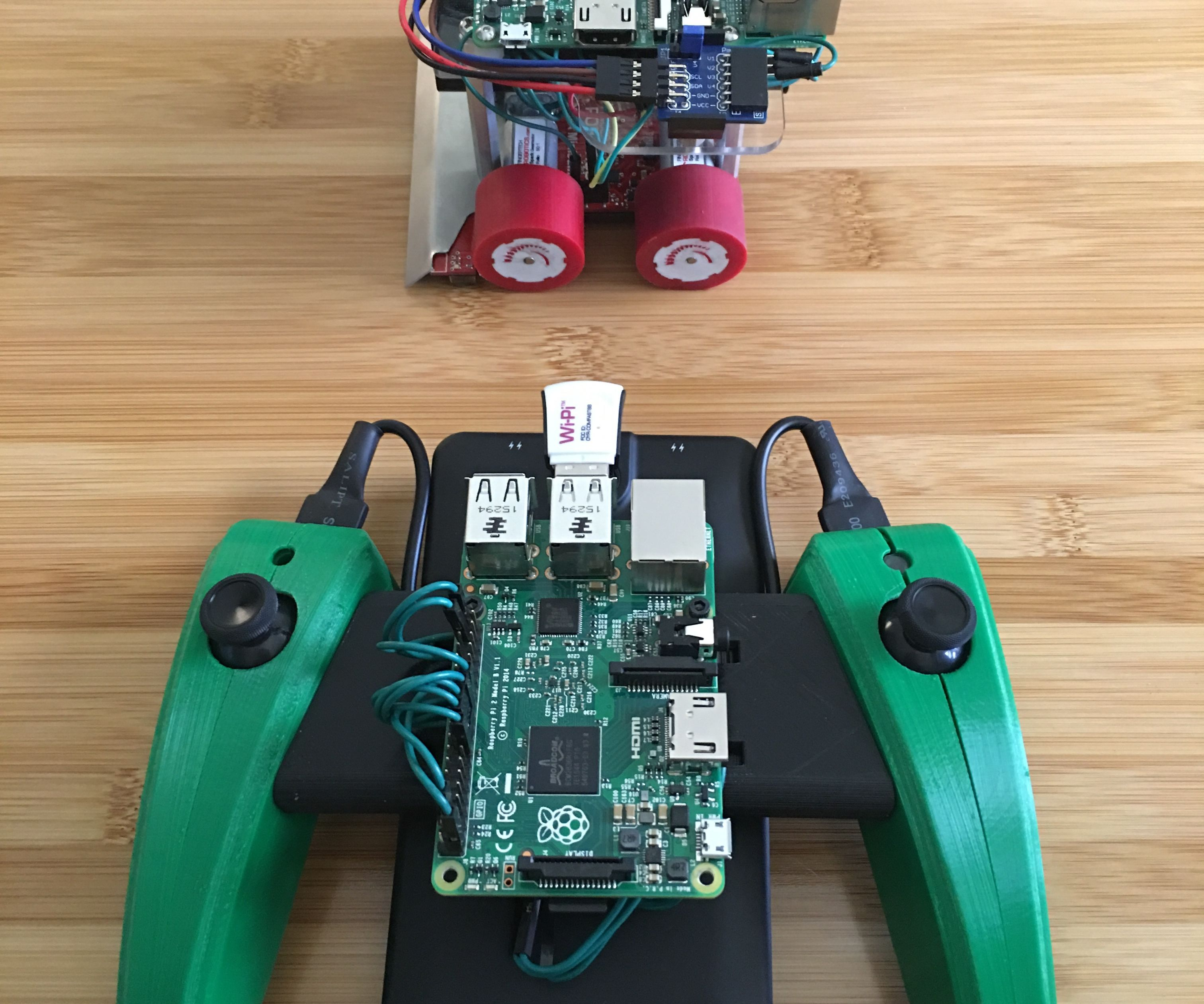Raspberry Pi SumoBot