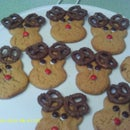 How To Make Peanut Butter Rudolph The Reindeer Cookies