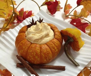 Heavenly Pumpkin Mousse