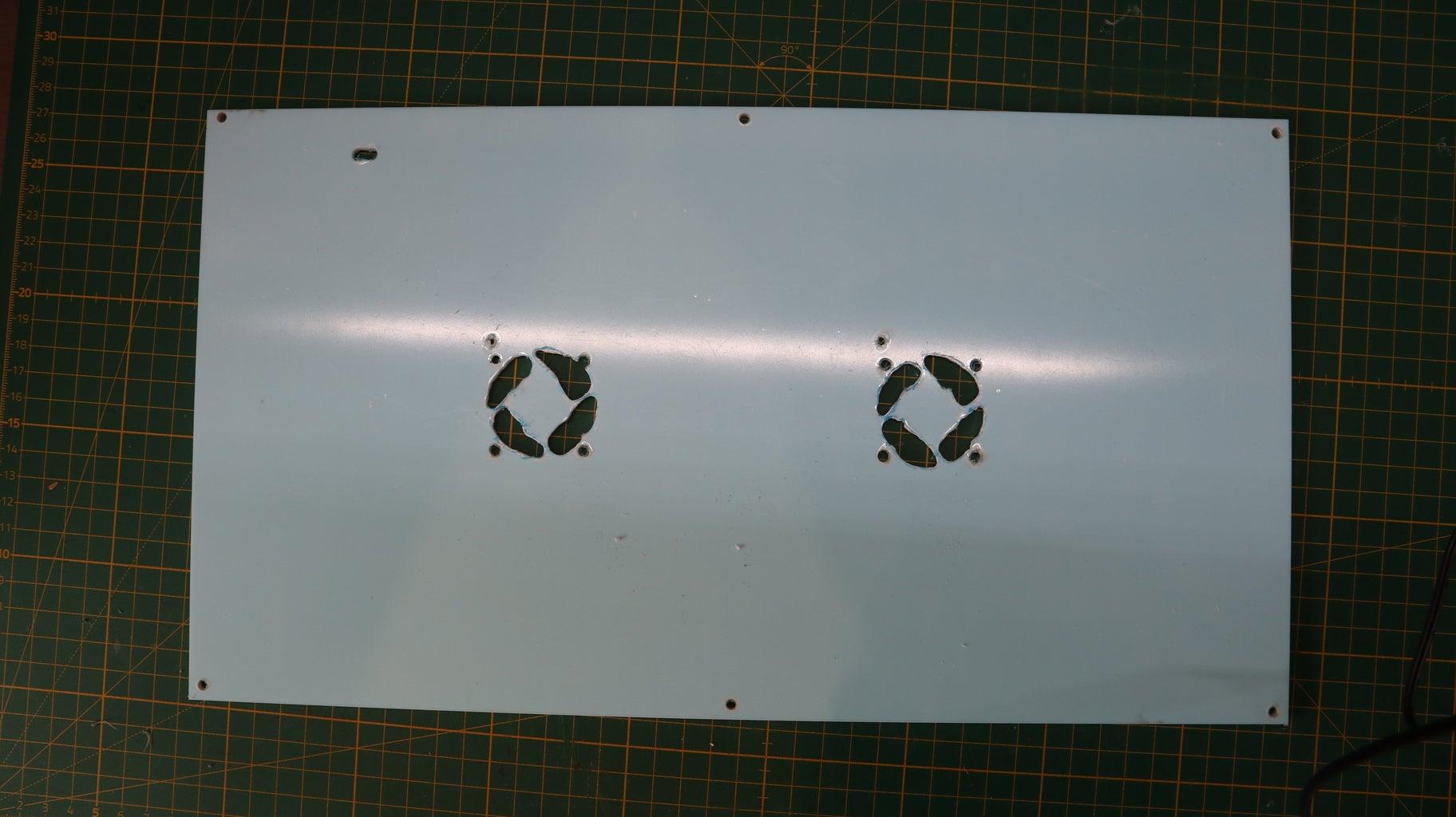 Preparing Acrylic Plate