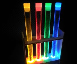 Glowing Display Stands