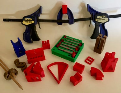 More 3D Printed Gadgets for Woodworking