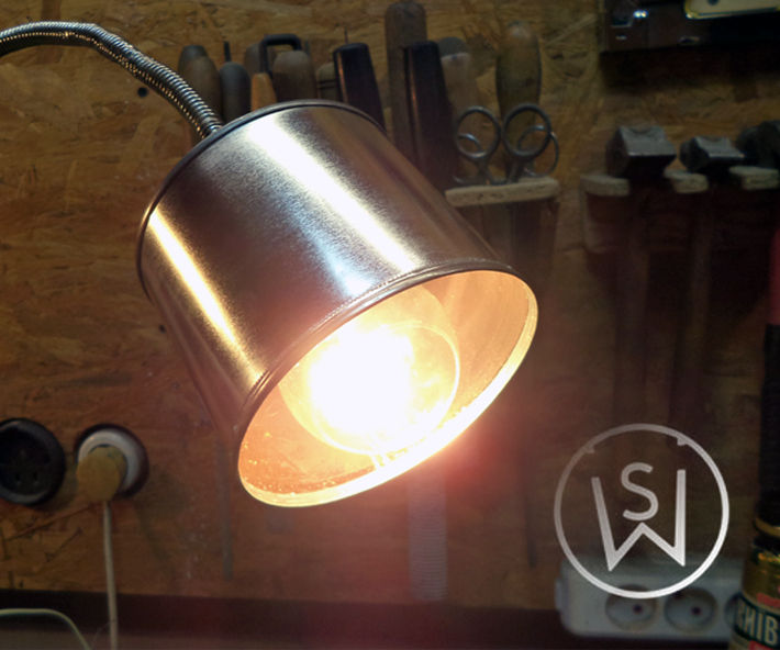 Paint Can Lamp