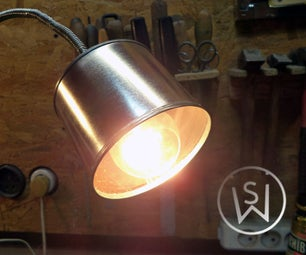 Paint Can Lamp (Illegal in Russia Since 2011)