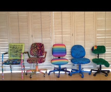 How to Redecorate an Old Chair