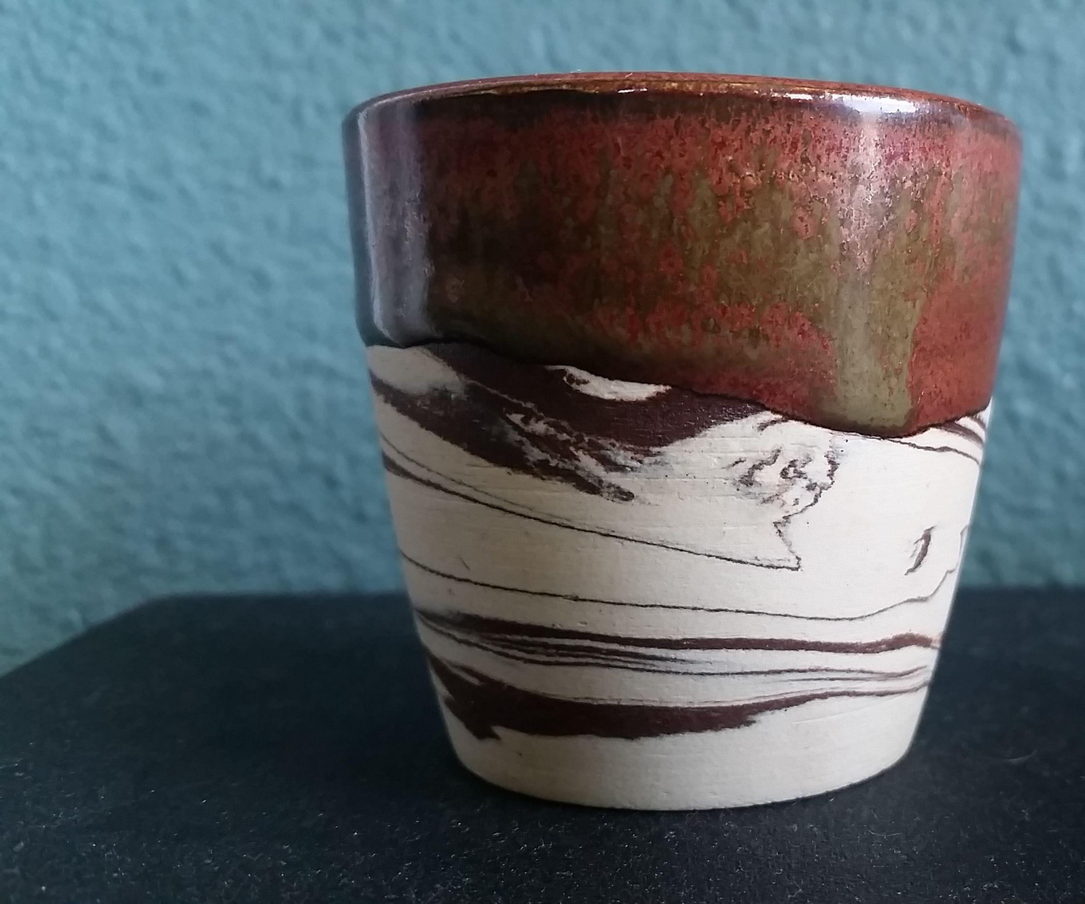 Marbled Ceramic Cup