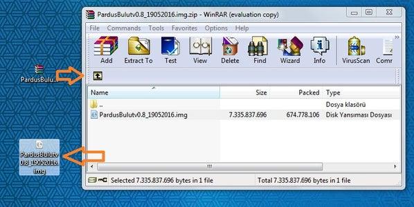 Download PardusARM Cloud
