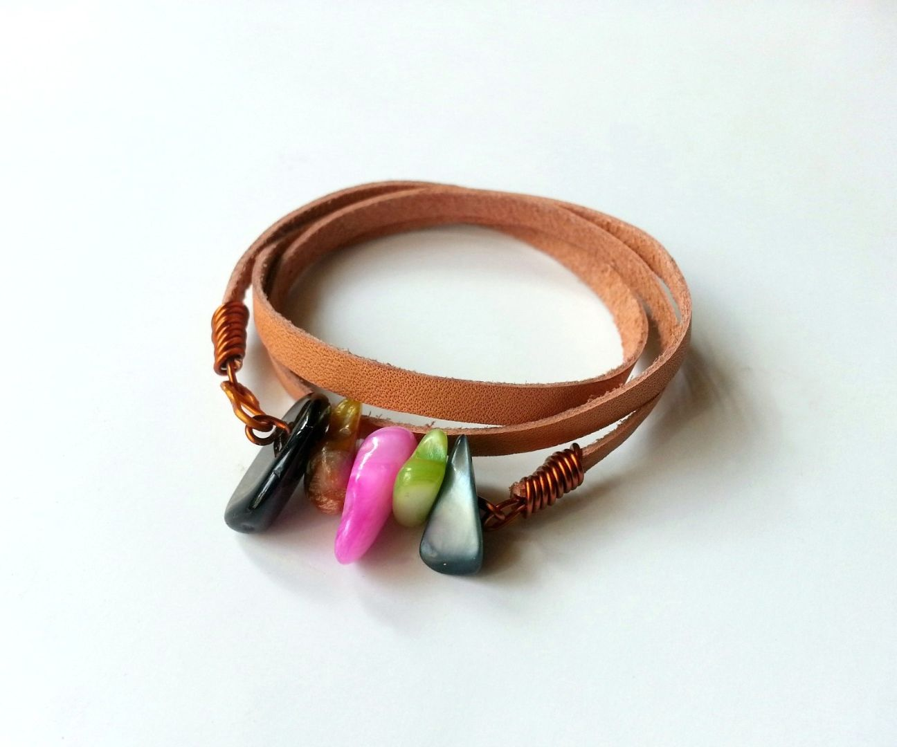 DIY Mixed Media Bracelet