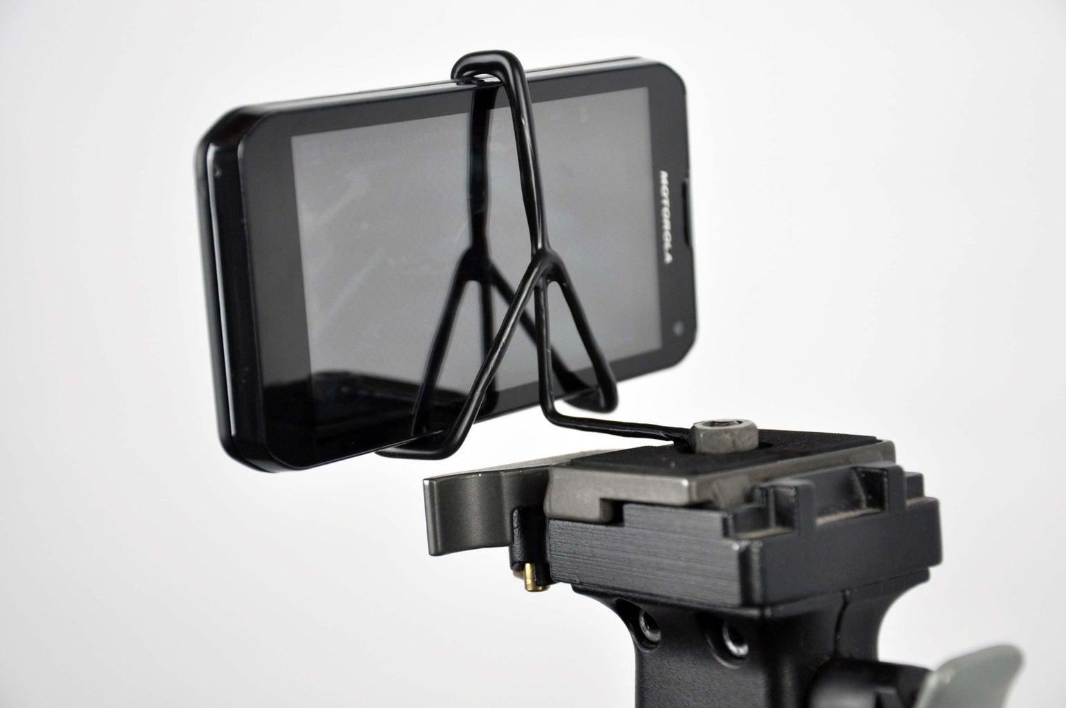 How to Make (Torch Braze) a Smart Phone Tripod Mount