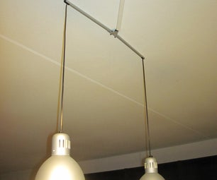 IkeaHack: Tertial Hanging Lamp