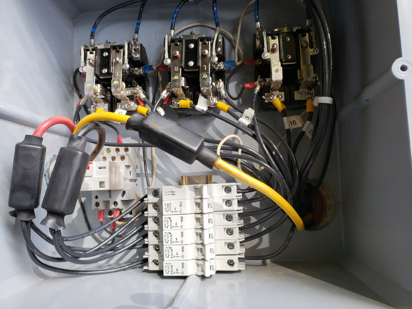 More Wires...