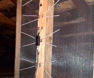 Simple OTA HD TV Antenna - Near Zero Cost - Mostly Scrap Materials
