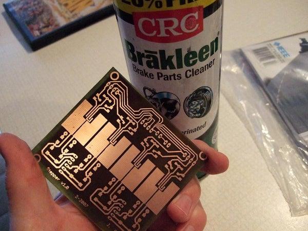 Two Sided PCB Using Toner Method