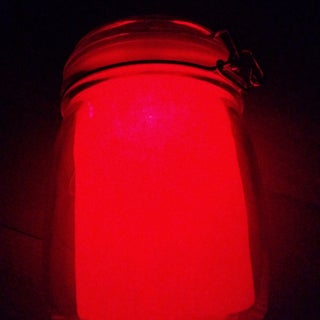 MASON JAR MOOD LAMP