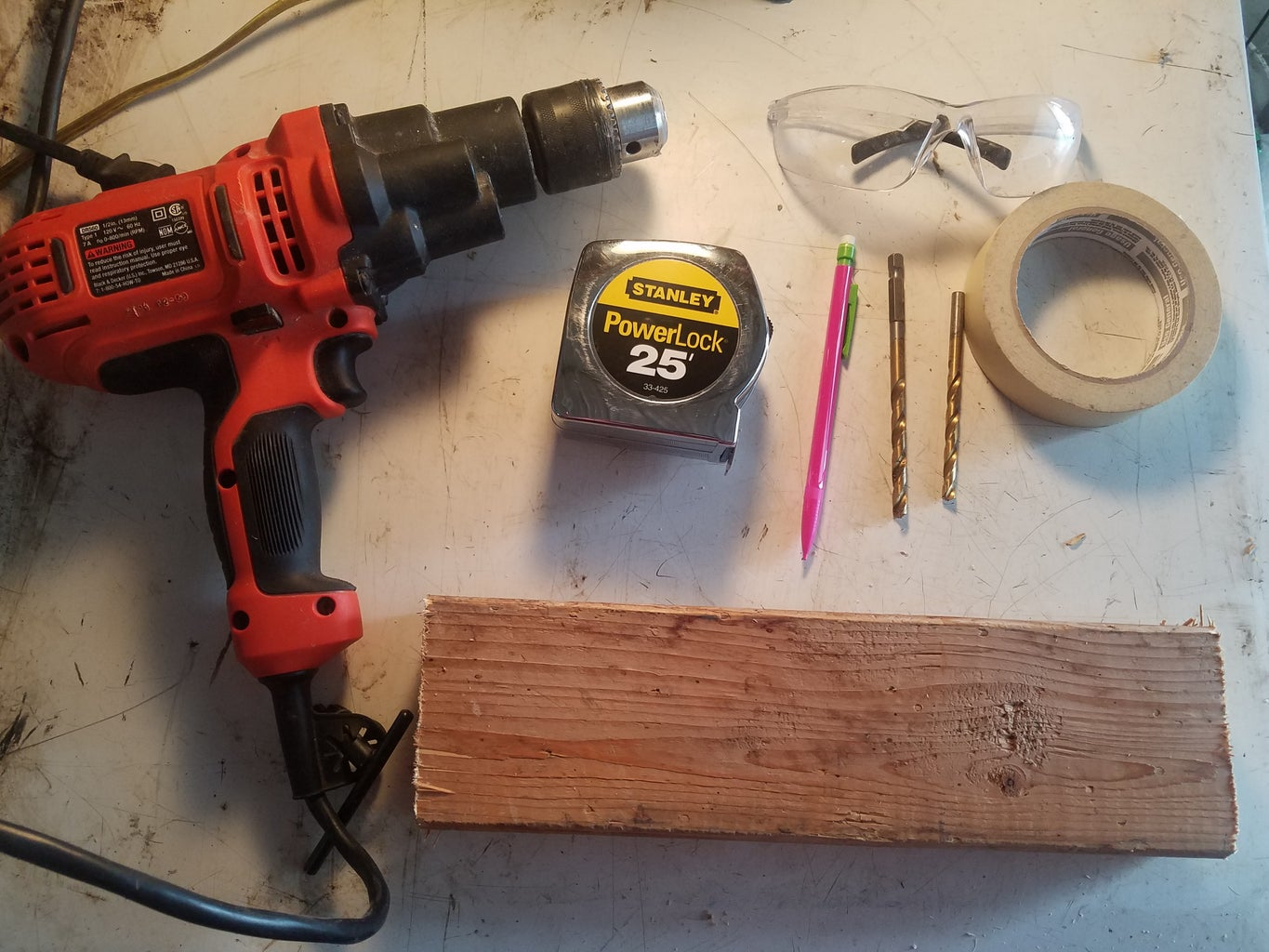 Assemble the Needed Tools.