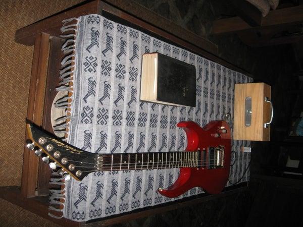 HOMEMADE GUITAR AMP