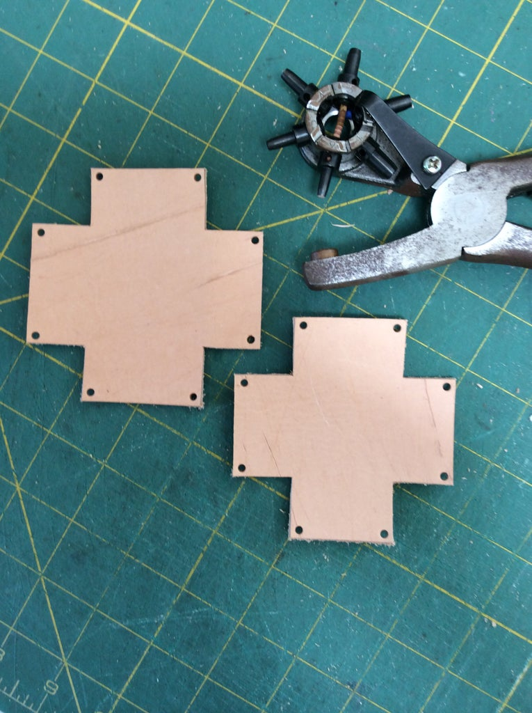 Punching Holes in the Corners