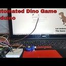 Automated Chrome Dino Game Using Arduino