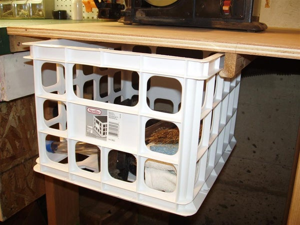 Simple Shop Storage Bins