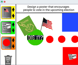 Sparklab - Design an Innovative Voting Poster