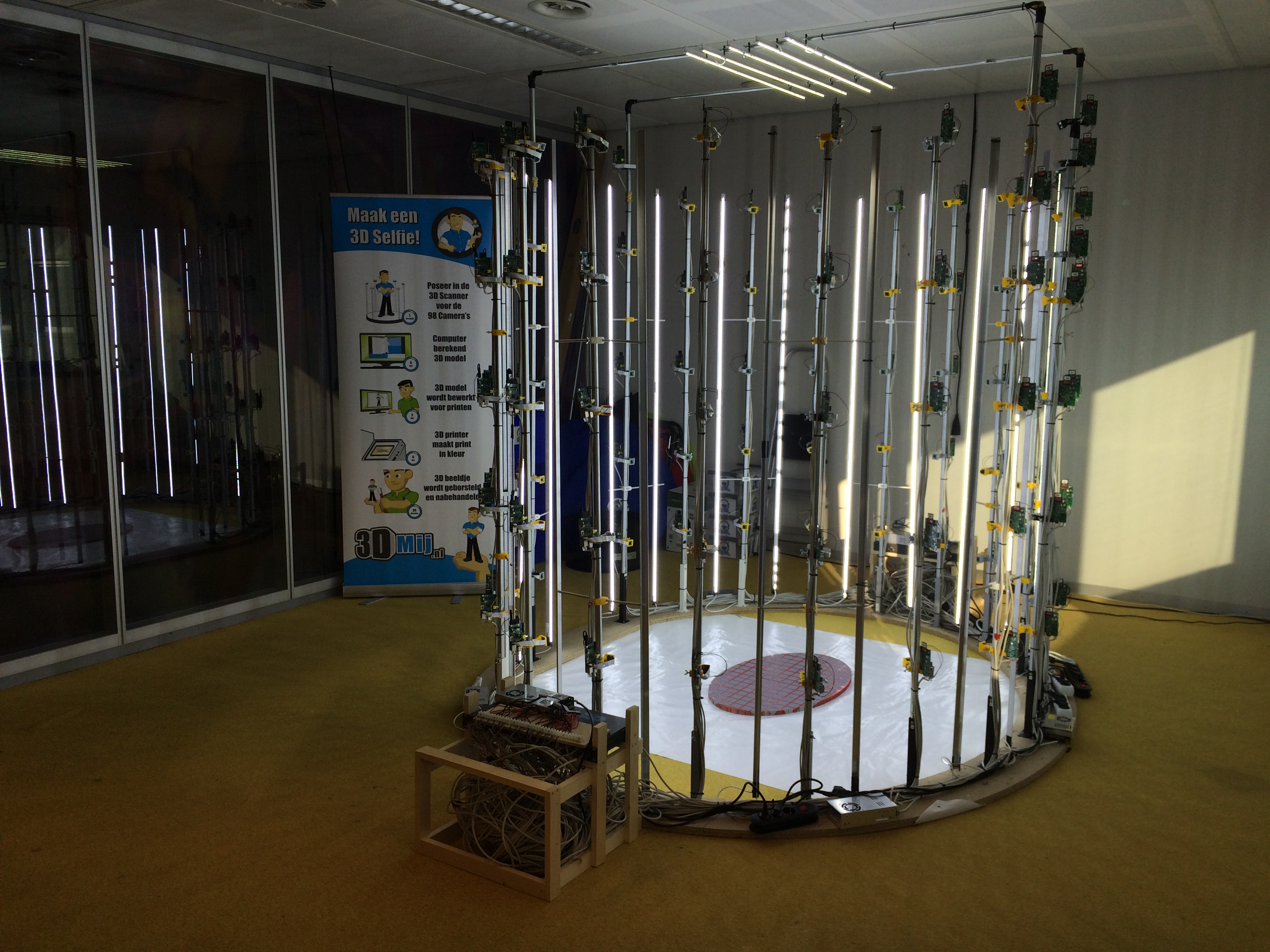 90 Pi Scanning Booth