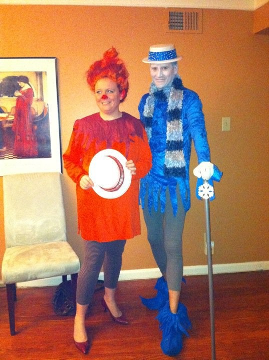 Heat and Snow Miser Costume (from the Year Without a Santa Claus)
