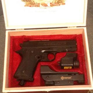 Cigar Box Pistol Case