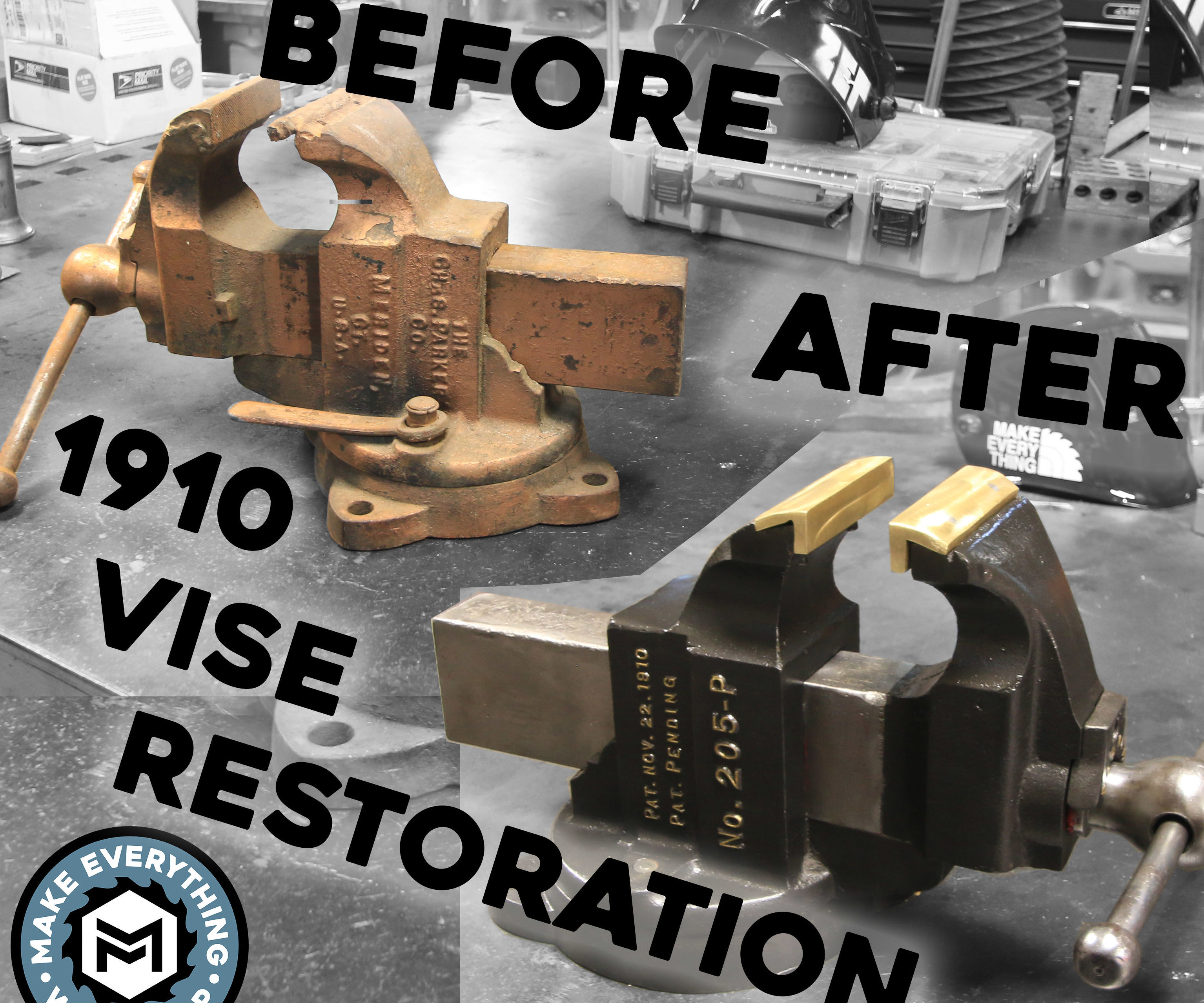 Restoring a 100 Year Old Vise!