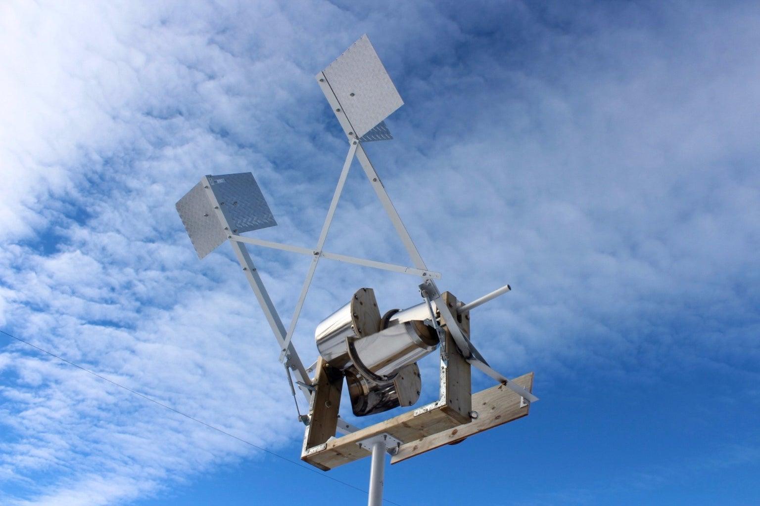 Savonius Horizontal Axis Wind Turbine