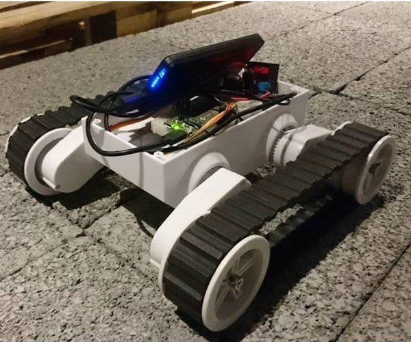 Build a Remote Control Tank on Cloud Using LinkIt 7688