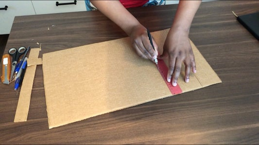 Making It Foldable and Cutting the Windows