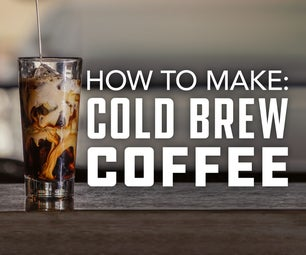 How to Make Cold Brew Coffee the Simple Way