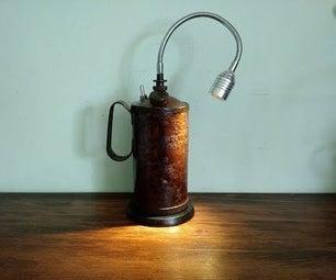 Oil Can Desk Lamp
