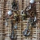 Steampunk Pirate earrings