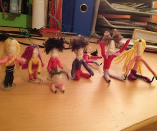 Miniature Wool People