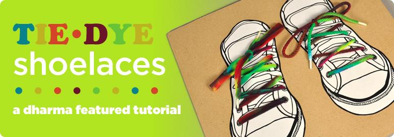 Tie-Dye Shoelaces