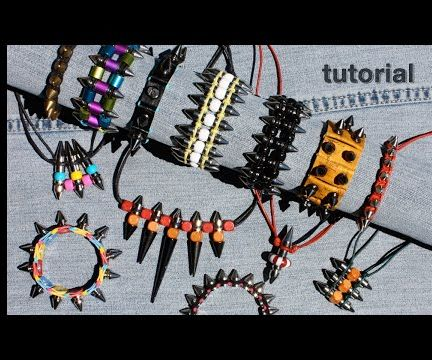 WIKarts: How to Make Jewelry With Metal Spikes