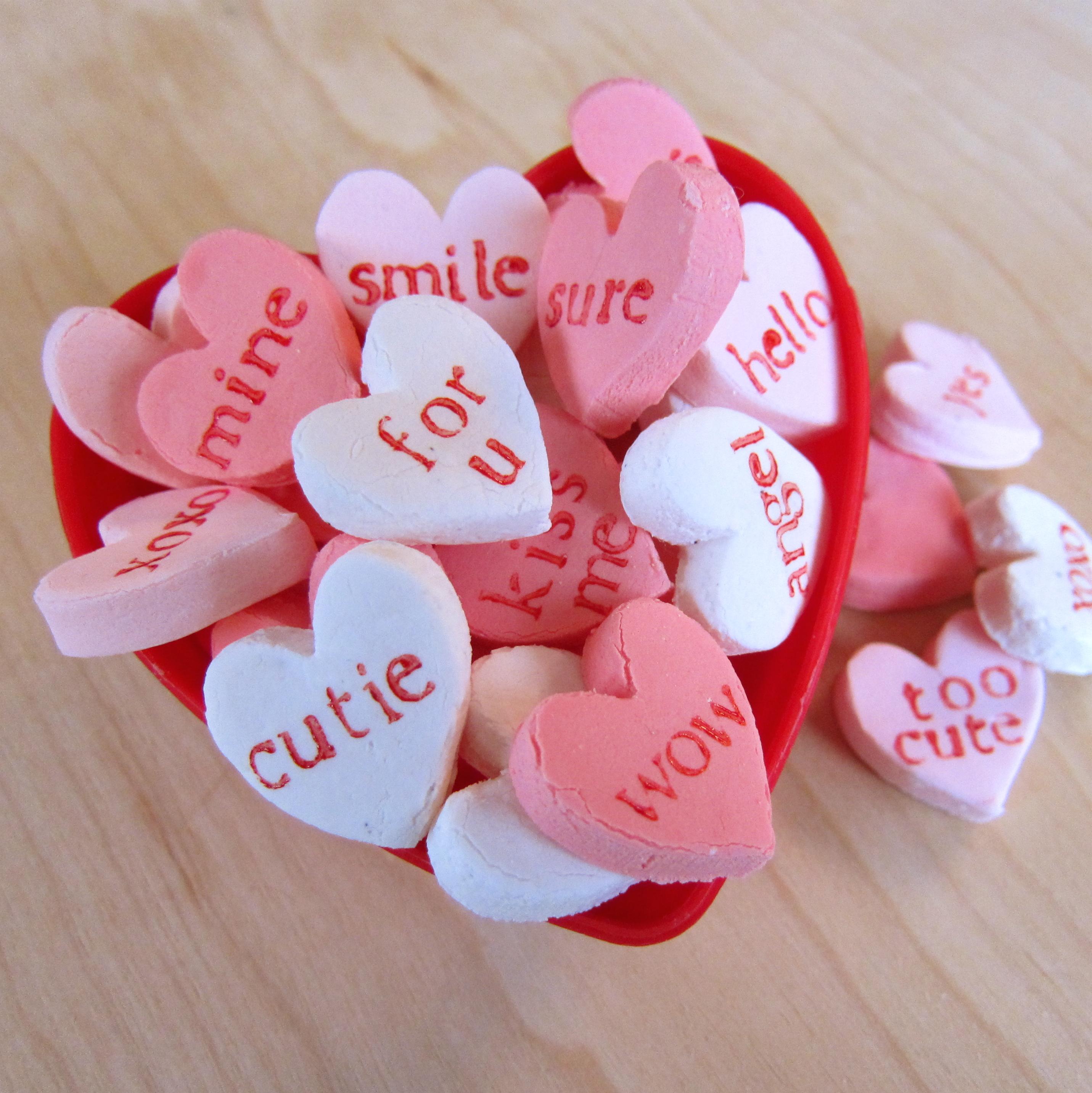 Homemade Candy (Conversation) Hearts
