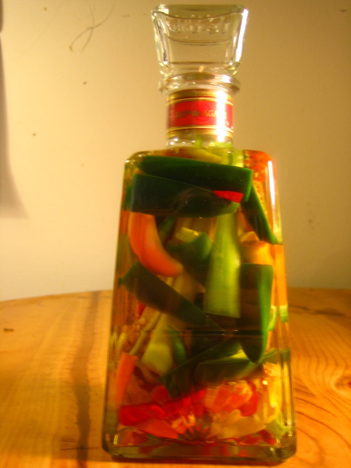 Devil's Water: Seven pepper infused tequila