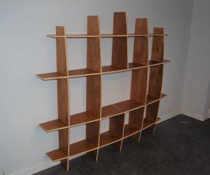Massironi Style Shelving Unit