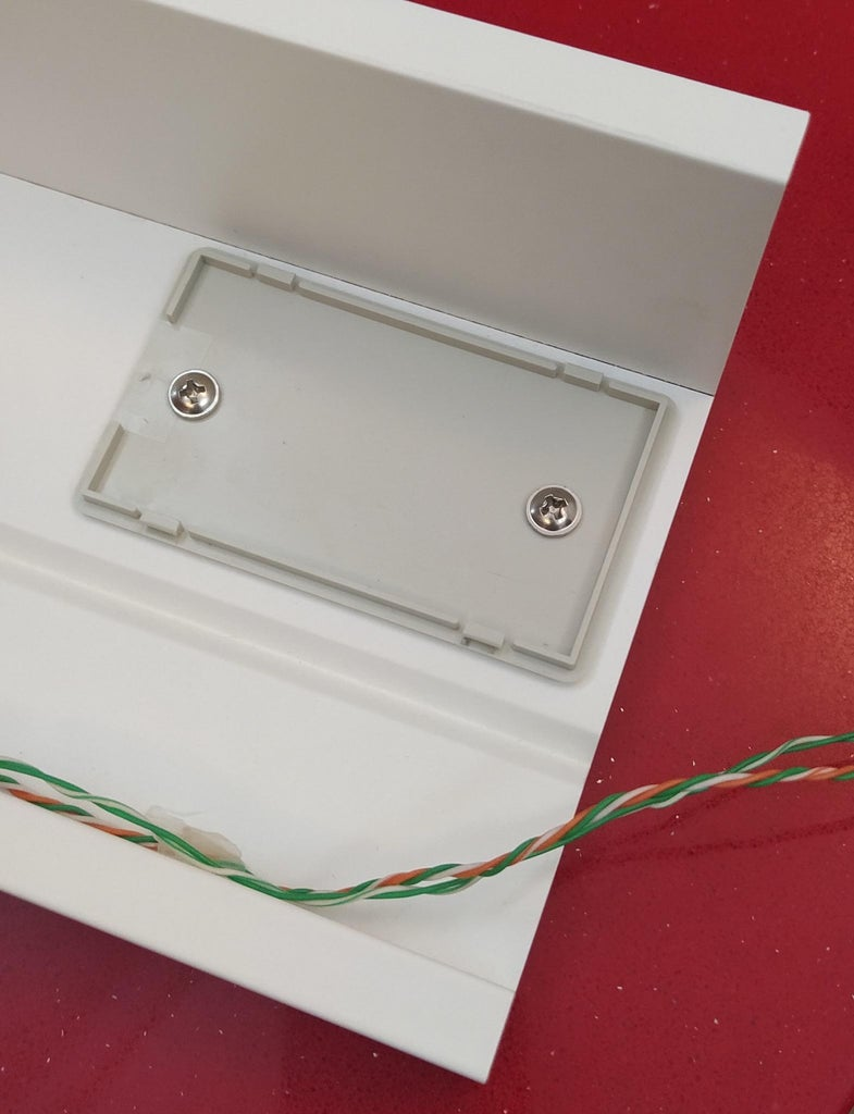 Attach the Box and Glue the LED Strip