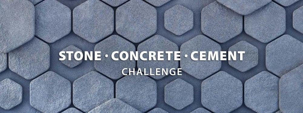 石,混凝土,水泥挑战