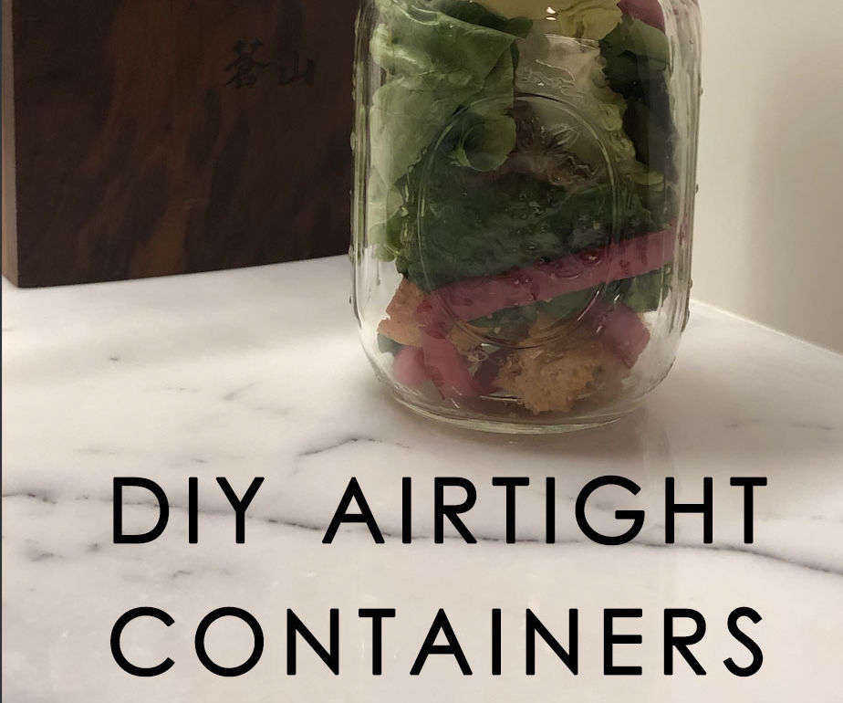 DIY Airtight Containers